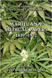 "okladka ksiazki ""Marijuana: Medical Papers 1839-1972"""